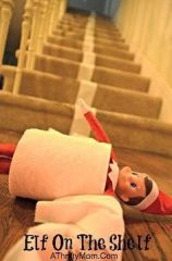 elf in toilet paper