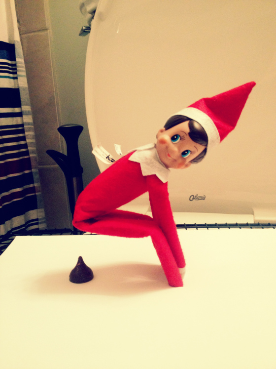 elf on the shelf mom plain simple