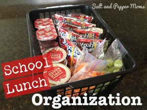 lunch basket organizer